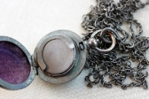 Victorian Gunmetal Locket