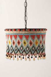 Beads Chandelier by Anthropologie