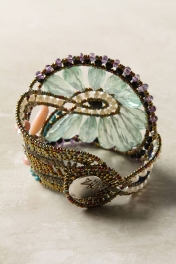 Anthropologie Chariot Wheel Bracelet