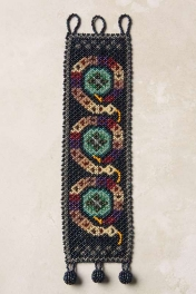 Anthropologie Coiled Beads Bracelet
