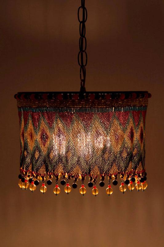 Плетеный абажур из своими руками фото 41