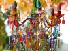 DIY Colorful Chandelier