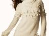 Пуловер с шишечками (прототип)