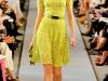 Лимонное платье от Oscar de la Renta