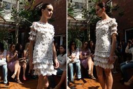 Платье крючком от Vanessa Montoro