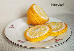 Вязаный Лимон