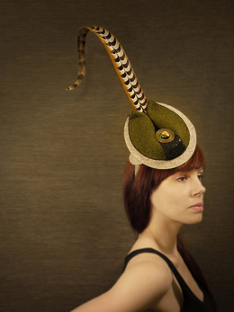 Коктейльные шляпки by Brianna Kenyon