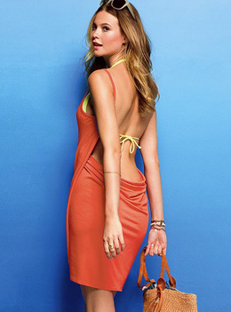 Open-back Cover-up Dress by Victoria's Secret